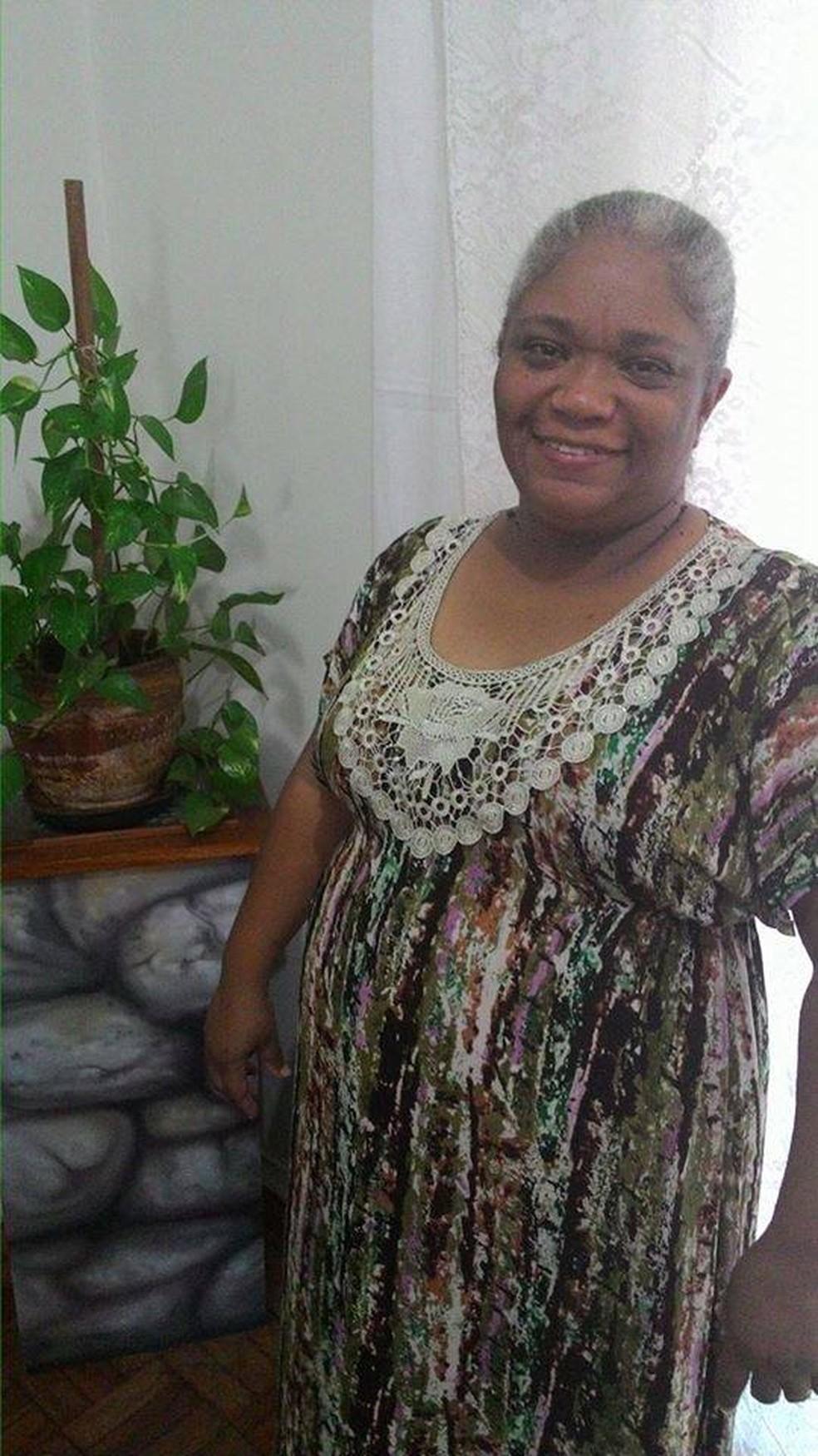 Roseli Silva Barbosa, de 53 anos, morava em Presidente Venceslau — Foto: Facebook/Reprodução