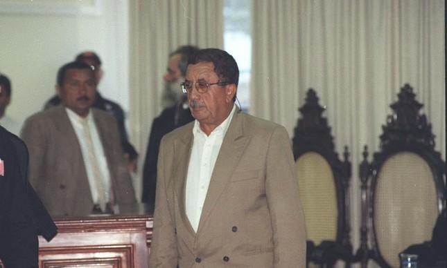 Coronel Mario Pantoja, condenado pelo massacre ocorrido em abril de 1996