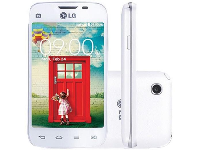 LG L40 é um telefone dual-chip da LG com Android 4.4.2 KitKat (Foto: Divulgação/LG)
