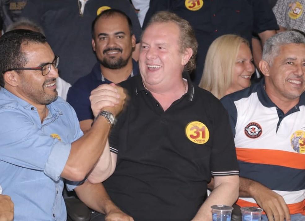 Carlesse comemora vitória em Gurupi (Foto: Divulgação)