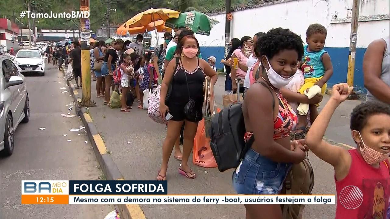 Terminal de São Joaquim tem movimento intenso de passageiros neste sábado