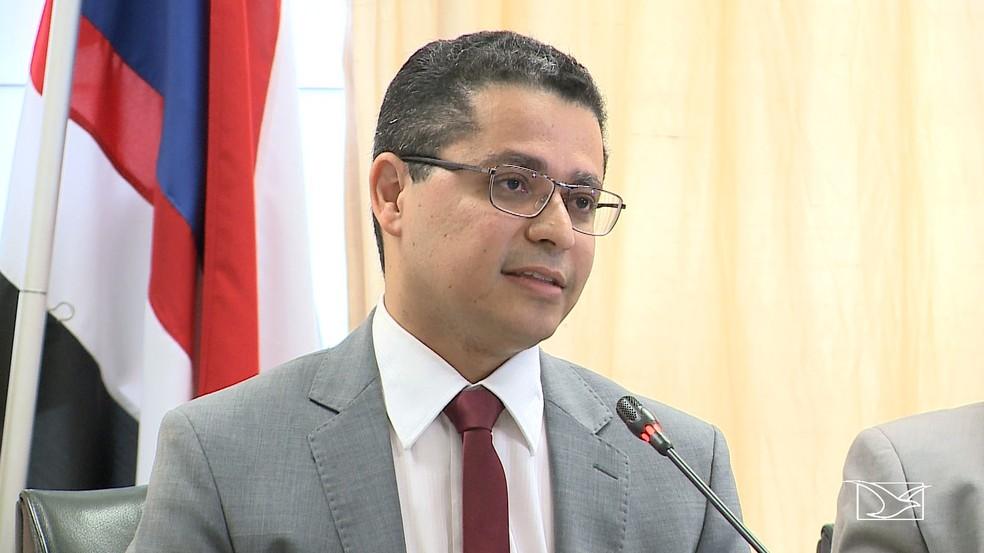 Carlos Lula, secretário de Saúde
