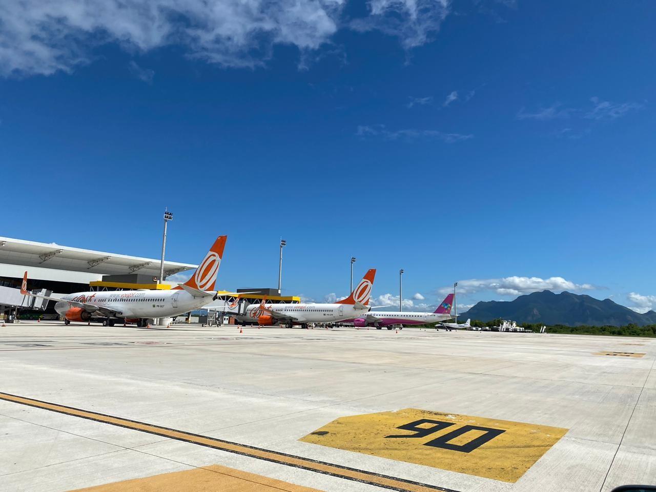 Aeroporto de Vitória anuncia quatro novos voos para a temporada de verão