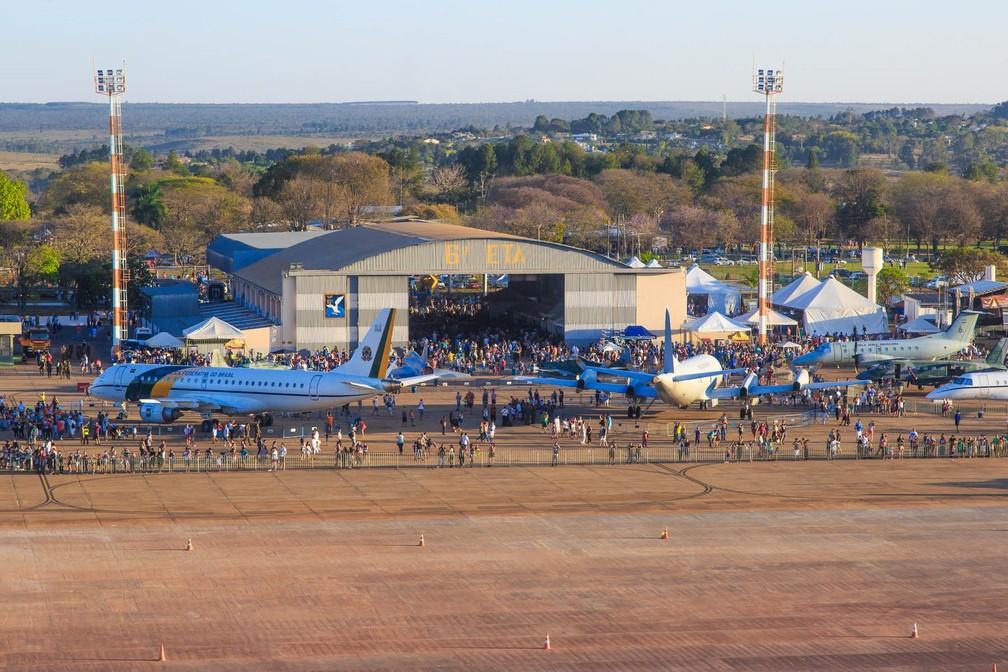 Base Aérea de Brasília na edição 2016 do 'Portões Abertos' (Foto: FAB/Divulgação)