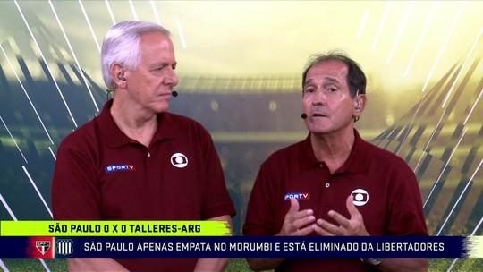 Ovacionado no Morumbi, Muricy descarta volta ao São Paulo após eliminação diante do Talleres