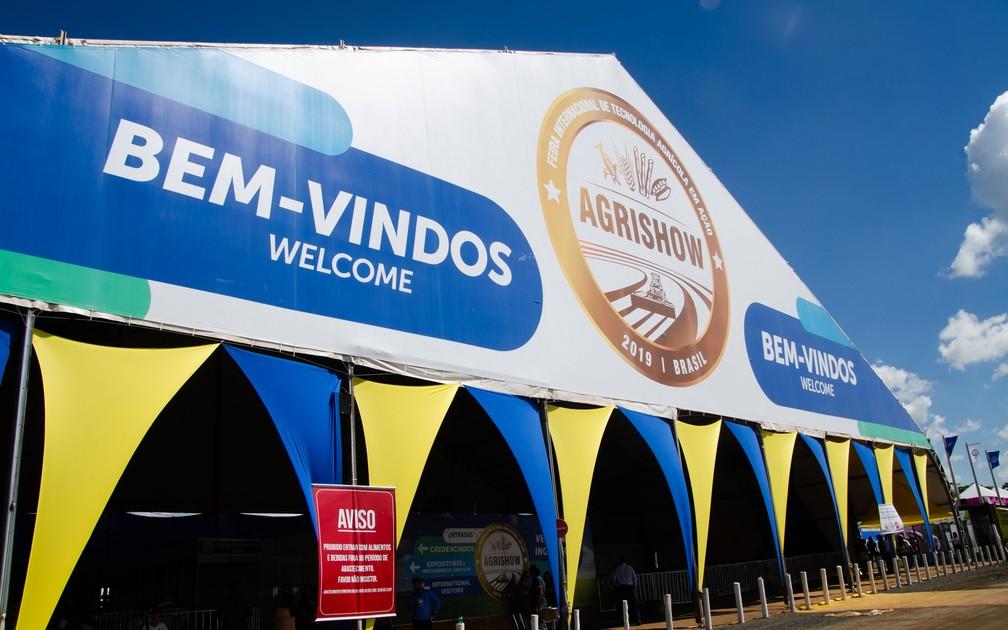 Agrishow 2019 recebeu 159 mil visitantes em Ribeirão Preto — Foto: Érico Andrade/G1