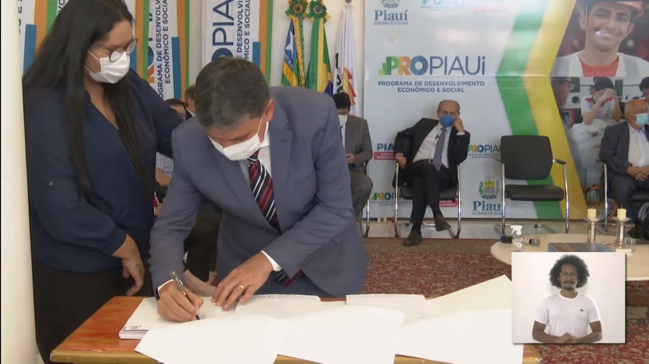 Governo do Piauí assina contrato de PPP para rodovia Transerrados e Estrada Palestina, no Sul do Piauí