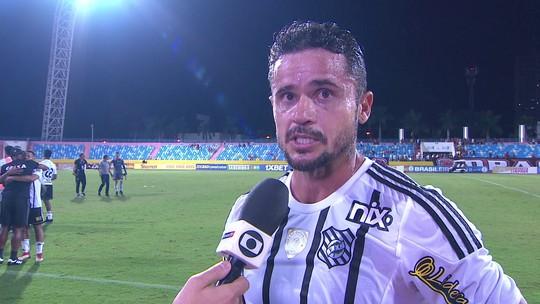 Zé Antônio comemora vitória do Figueirense sobre o Atlético-GO