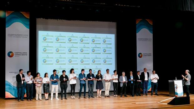 Empresas sobem ao palco do CCLAB 2019 (Foto: Divulgação/Yasmin Dib)