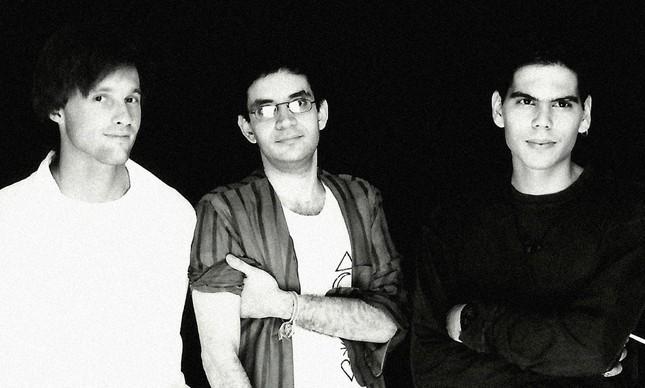 Dado Villa-Lobos, Renato Russo (1960-1996) e Marcelo Bonfá, na época da Legião Urbana