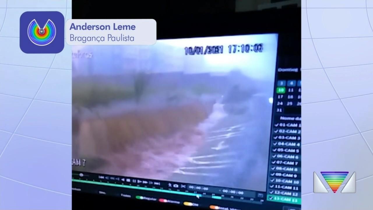 Chuva causa transtornos nas cidades da região