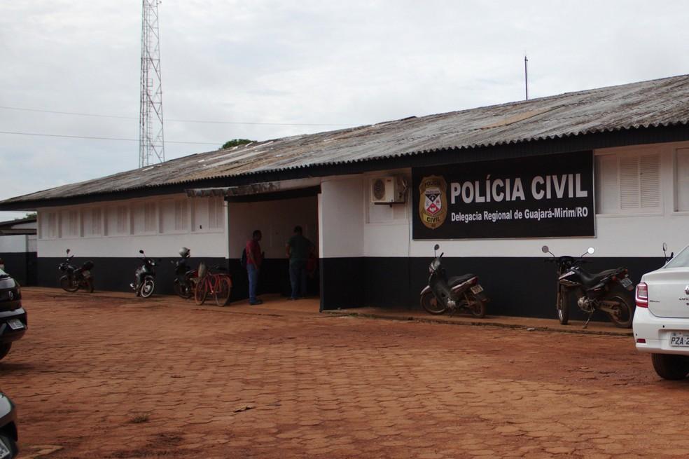 Caso foi registrado na Delegacia de Guajará-Mirim — Foto: Fabiano do Carmo/G1