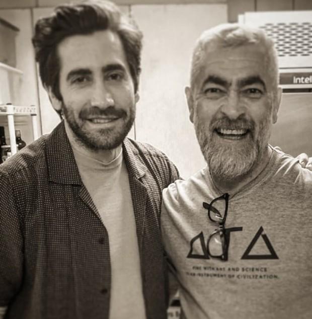 Jake Gyllenhaal visita restaurante do chef Alex Atala (Foto: Instagram/ Reprodução)