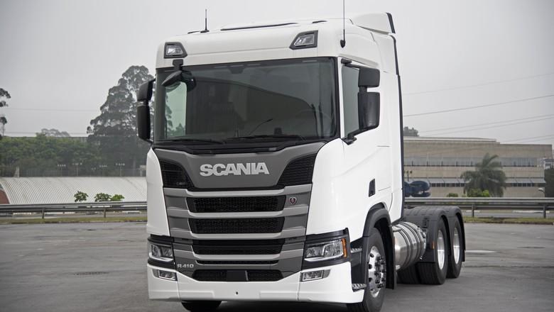 scania gnl fenatran 2019 (Foto: Divulgação/Scania)
