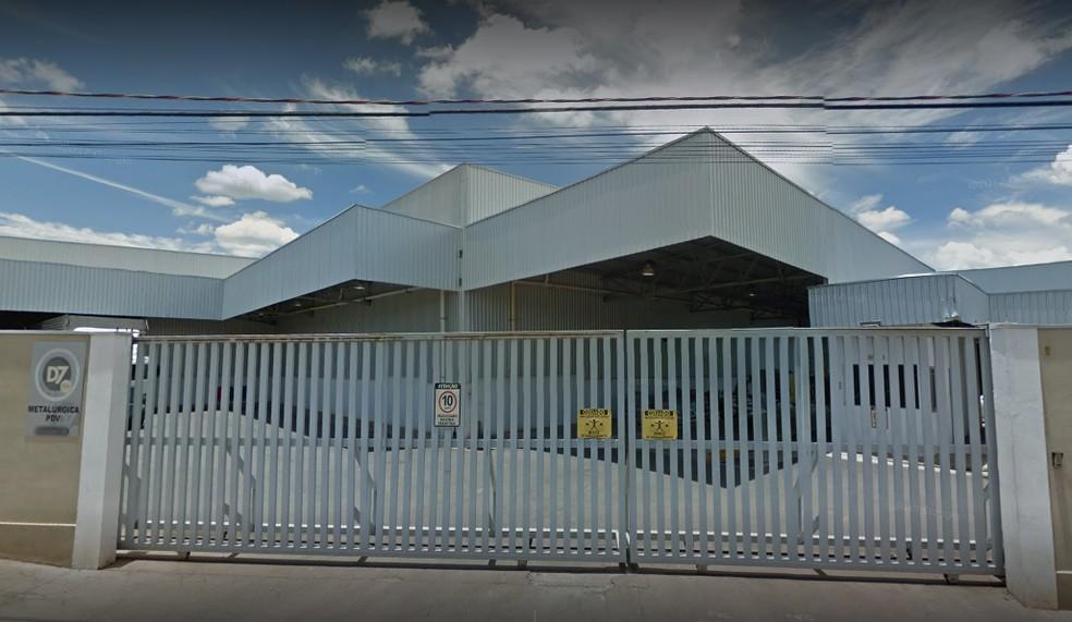 Empresa metalúrgica encerrou as atividades em São João da Boa Vista e demitiu 70 funcionários — Foto: Reprodução Google