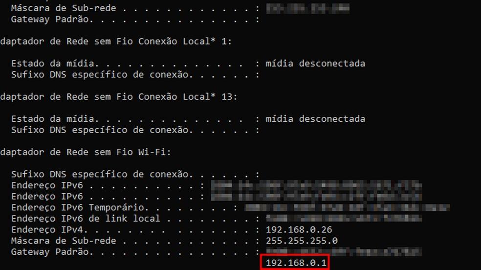 Tela de configuração de IP do Windows — Foto: Reprodução/Paulo Alves