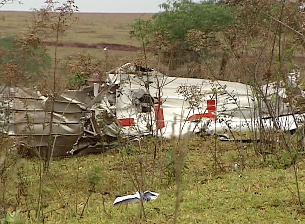 Acidente em Marabá Paulista, em 2011, deixou quatro vítimas fatais — Foto: TV Fronteira/Reprodução