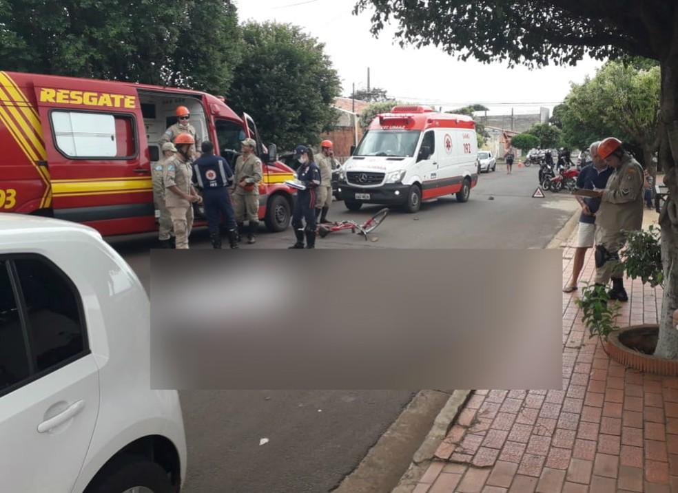 Condutora deve responder por homicídio culposo no trânsito em MS — Foto: Osvaldo Nóbrega/TV Morena