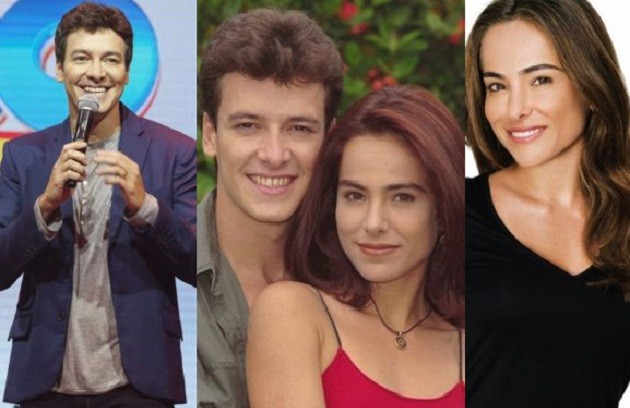 Lembra de Bruno e Alice, casal da quarta temporada?  Rodrigo Faro seguiu carreira como apresentador, na Record, e Cássia Linhares continua atuando. Seu último trabalho na TV foi em 'Rebelde' (2012) (Foto: Arquivo)