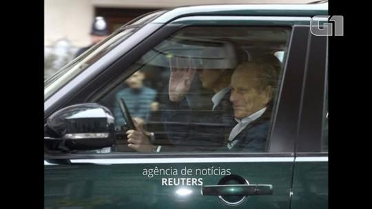 Príncipe Philip deixa hospital em Londres