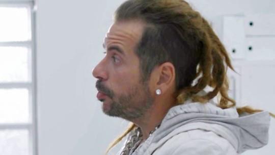 Leandro Hassum aparece com dreads em 'Chapa Quente'; veja!