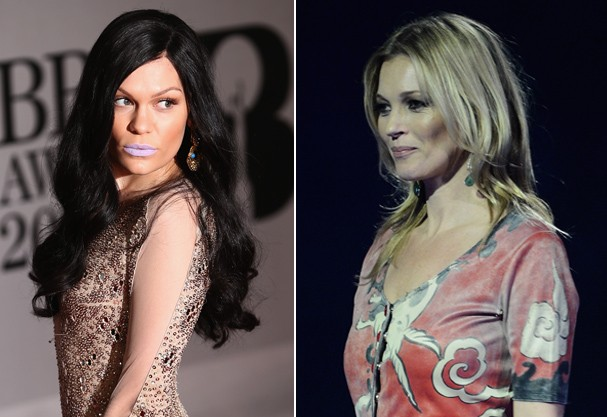 Jessie J e Kate Moss (Foto: Getty Images)