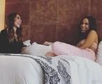 Monica Naranjo e Anitta em hotel da Zona Sul do Rio | Reprodução/Instagram