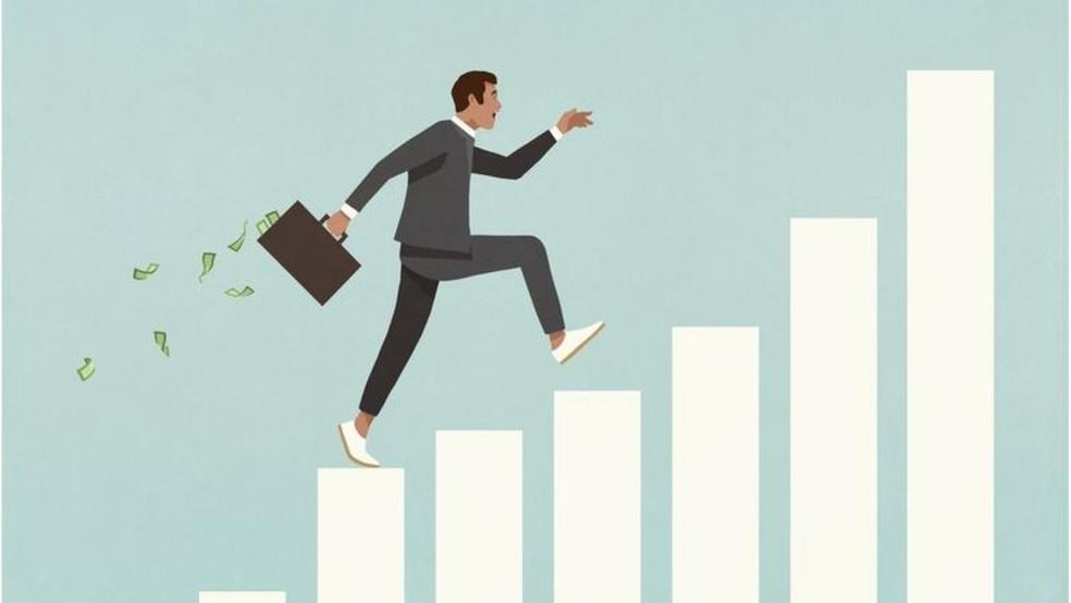 A perspectiva de crescimento na carreira faz parte do salário emocional — Foto: Malte Mueller/Getty Images