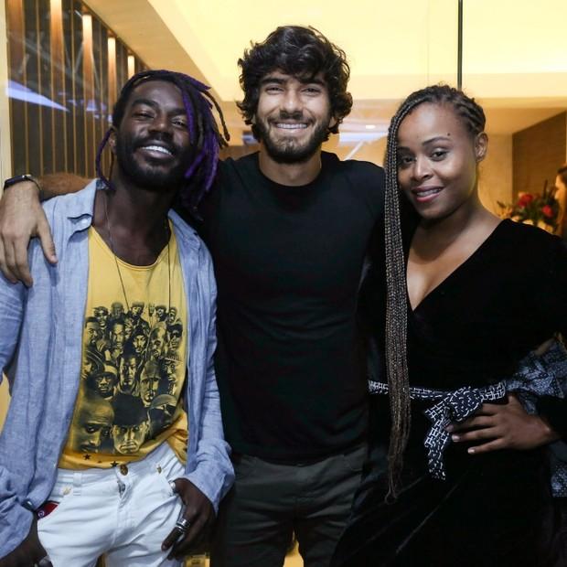 Jonathan Azevedo, Hugo Moura e Roberta Rodrigues (Foto: Wallace Barbosa/AgNews)