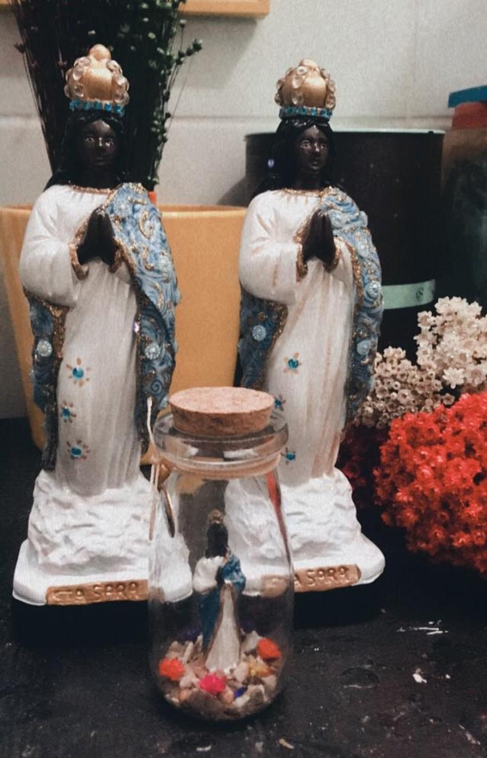 Projeto de conscientização ambiental foi bem recebido por religiosos — Foto: Arquivo Pessoal