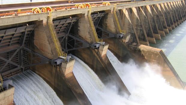 Usina hidrelétrica da Companhia Energética de São Paulo (CESP) (Foto: Divulgação)