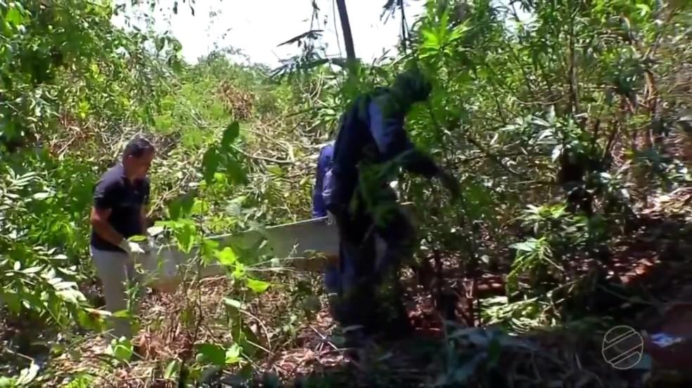 Vítima ainda não foi identificada — Foto: TVCA/ Reprodução