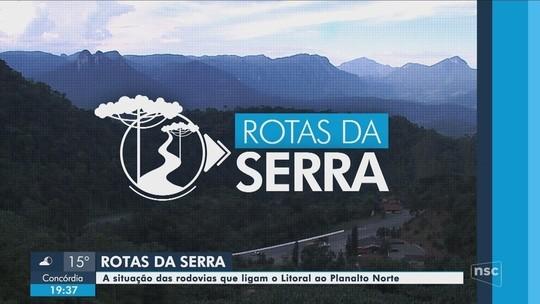 Confira as reportagens da série da NSC TV 'Rotas da Serra'
