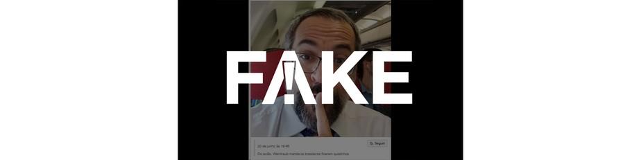 É #FAKE que foto mostre Weintraub em avião pedindo silêncio após demissão e saída do Brasil
