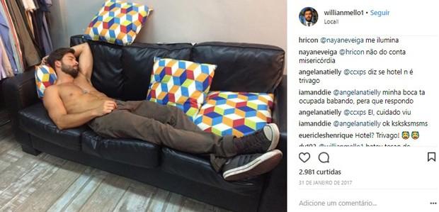 Willian Mello (Foto: Reprodução/Instagram)