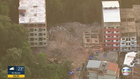 Demolição de prédios ameaçados de desabamento, na Muzema, deve durar pelo menos um mês