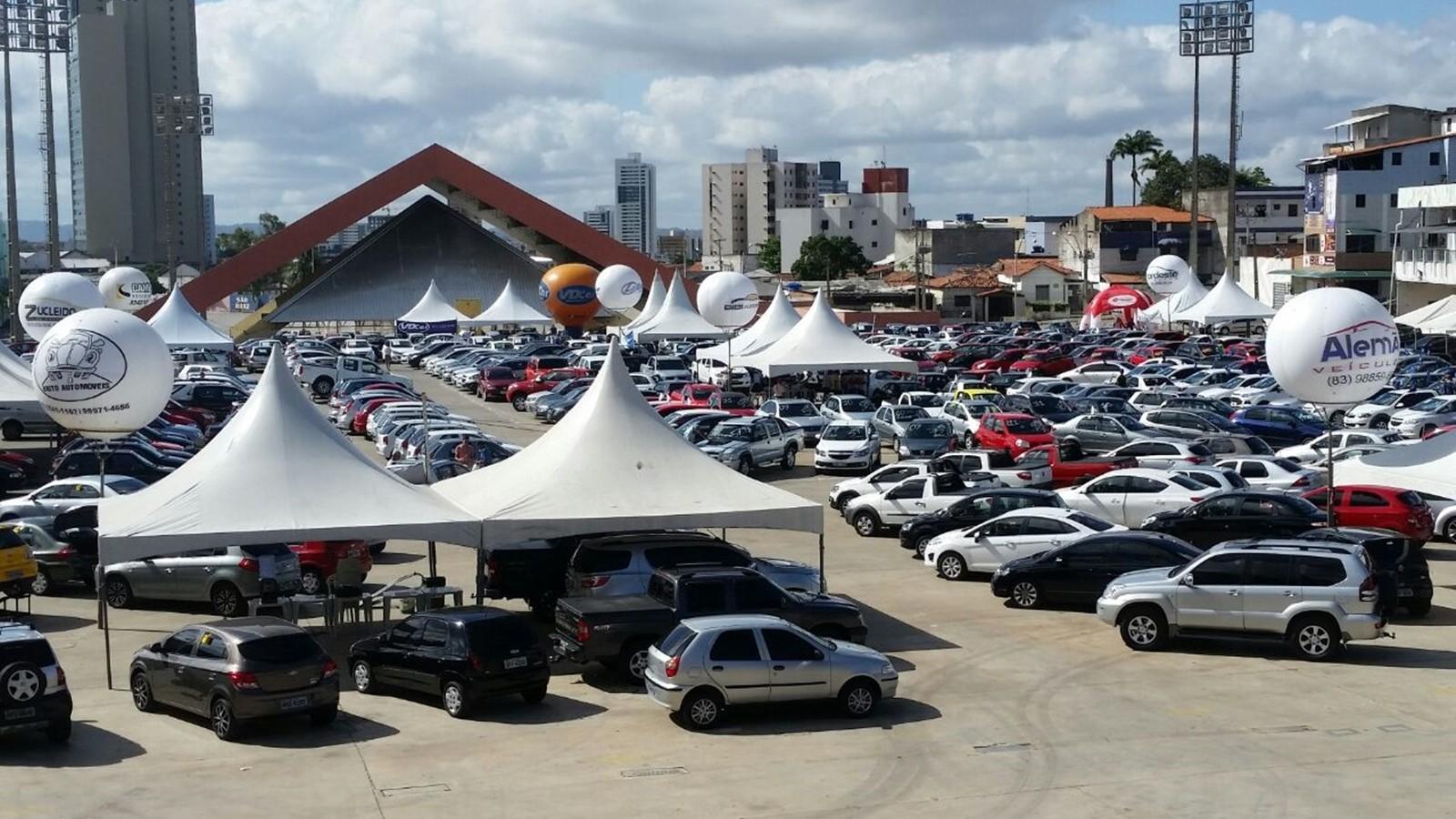 'Feirão de Automóveis' tem oportunidade de negócios em Campina Grande