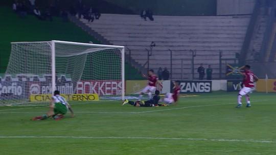 O gol de Juventude 0 x 1 Vila Nova pela 13ª rodada do Campeonato Brasileiro da Série B