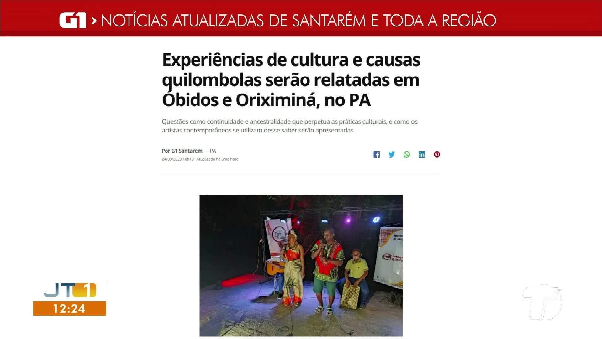 VÍDEOS: Jornal Tapajós 1ª Edição de quinta-feira, 24 de setembro