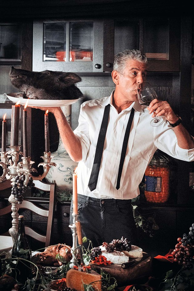 Anthony Bourdain (Foto: From APPETITES by Anthony Bourdain and Laurie Woolever)