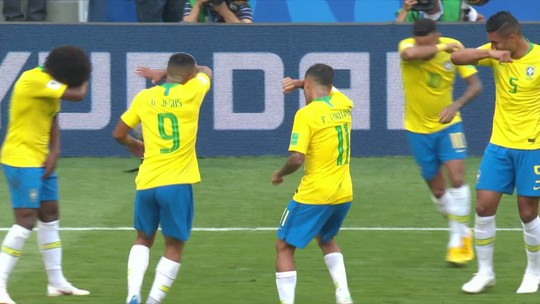 Jogadores de Counter Strike explicam comemoração de jogadores do Brasil após gol de Neymar