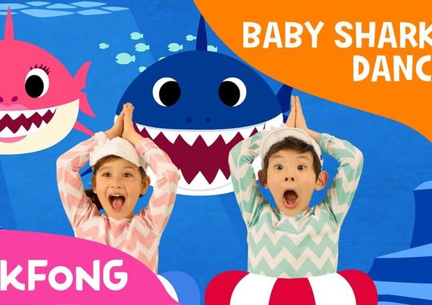"""""""Baby Shark"""" (Foto: Reprodução/ Instagram)"""