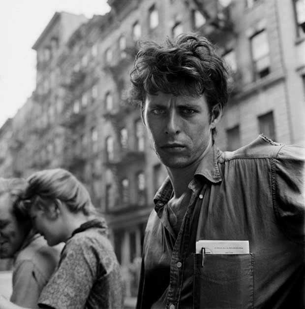 Turk LeClair, MacDougal Street, New York City, 1958 (Foto: Photography by Larry Fink)