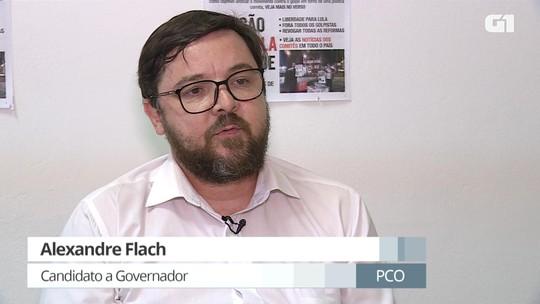 Em entrevista ao G1, Alexandre Flach (PCO) diz que recorreu da impugnação de sua candidatura determinada pelo TRE-MG