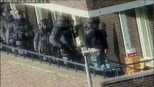 Polícia holandesa frustra 'grande atentado terrorista'