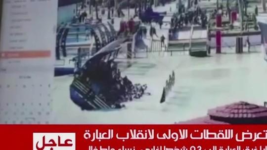 Naufrágio no Rio Tigre deixa 94 mortos durante celebração do Nowruz
