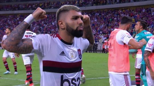 Atuações do Flamengo: em noite de nível técnico ruim, Gabigol e Reinier decidem