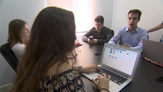 Empresa júnior de estudantes universitários dá consultoria para negócios do mercado real