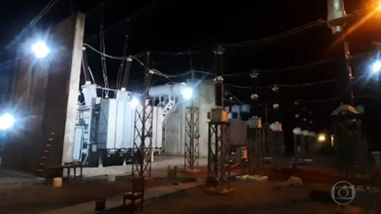 Fornecimento de energia do Amapá é normalizado após três semanas