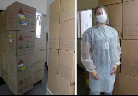 Hospitais locais recebem novos EPIs da Defesa Civil de Viçosa